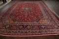 Traditional Floral Mashad Persian Area Rug 10x13 image 17