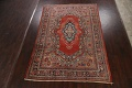Antique Floral Mahal Persian Area Rug 8x11 image 2