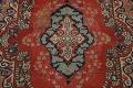Antique Floral Mahal Persian Area Rug 8x11 image 4