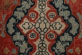 Antique Floral Mahal Persian Area Rug 8x11 image 11