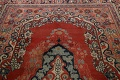Antique Floral Mahal Persian Area Rug 8x11 image 12