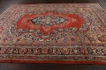 Antique Floral Mahal Persian Area Rug 8x11 image 14
