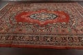 Antique Floral Mahal Persian Area Rug 8x11 image 16