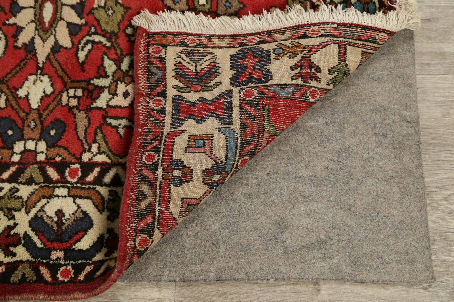 All-Over Floral Bakhtiari Persian Area Rug 5x10 image 7