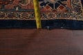 Pre-1900 Antique Vegetable Dye Sultanabad Persian Area Rug 10x13 image 19