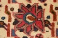 All-Over Geometric Afshar Persian Runner Rug 3x7 image 10