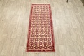 All-Over Geometric Afshar Persian Runner Rug 3x7 image 2