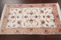 Vegetable Dye Wool/ Silk Floral Tabriz Persian Area Rug 2x4 image 11