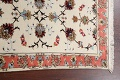 Vegetable Dye Wool/ Silk Floral Tabriz Persian Area Rug 2x4 image 10