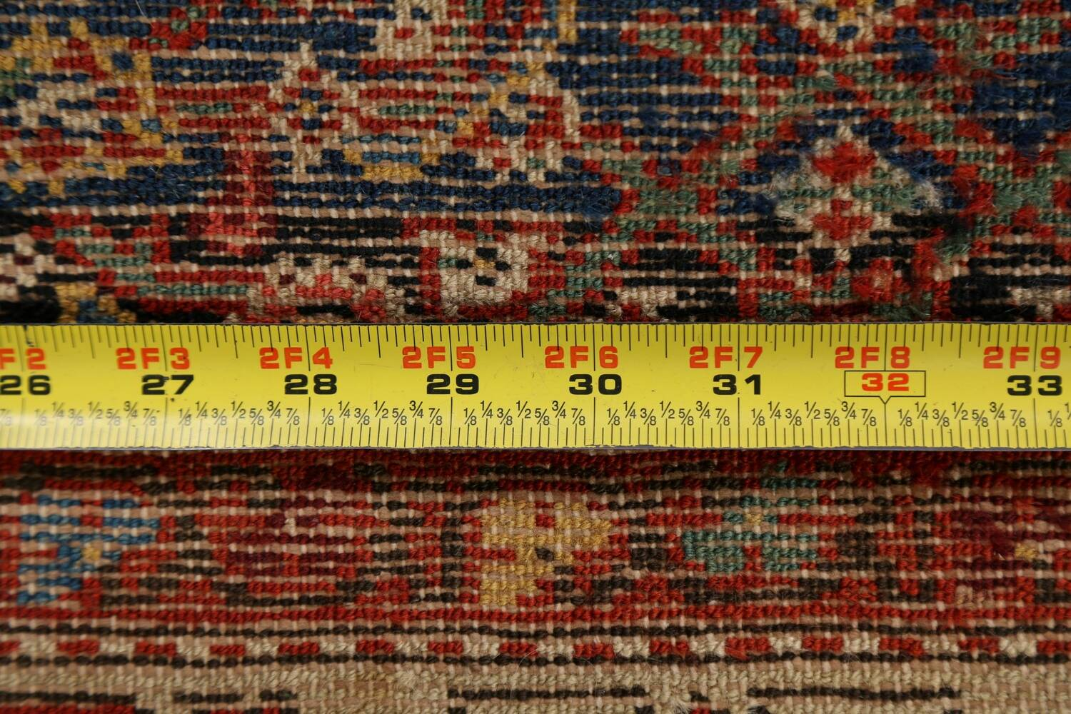 Pre-1900 Antique All-Over Malayer Persian Area Rug 4x6 image 16