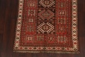 Vegetable Dye Geometric Kazak Oriental Area Rug 5x8 image 8