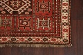 Vegetable Dye Geometric Kazak Oriental Area Rug 5x8 image 5