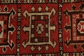 Vegetable Dye Geometric Kazak Oriental Area Rug 5x8 image 10