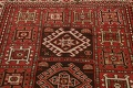 Vegetable Dye Geometric Kazak Oriental Area Rug 5x8 image 11