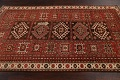 Vegetable Dye Geometric Kazak Oriental Area Rug 5x8 image 13