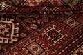 Vegetable Dye Geometric Kazak Oriental Area Rug 5x8 image 17