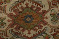Pre-1900 Antique Vegetable Dye Sultanabad Persian Area Rug 9x12 image 11