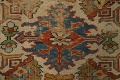 Pre-1900 Antique Vegetable Dye Sultanabad Persian Area Rug 9x12 image 12