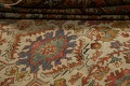 Pre-1900 Antique Vegetable Dye Sultanabad Persian Area Rug 9x12 image 22