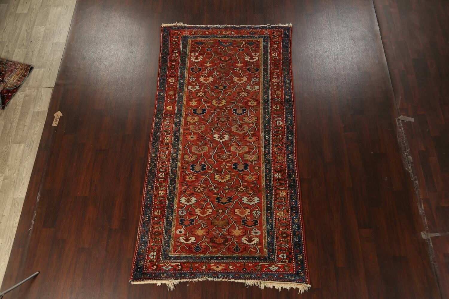 Pre-1900 Antique Vegetable Dye Sultanabad Persian Area Rug 5x10 image 2