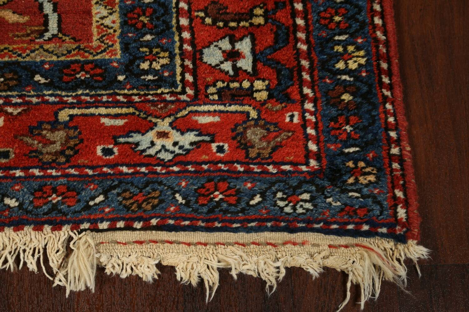 Pre-1900 Antique Vegetable Dye Sultanabad Persian Area Rug 5x10 image 5