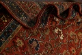 Pre-1900 Antique Vegetable Dye Sultanabad Persian Area Rug 5x10 image 21