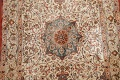Antique 100% Vegetable Dye Isfahan Persian Area Rug 4x6 image 4