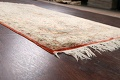 Antique 100% Vegetable Dye Isfahan Persian Area Rug 4x6 image 6