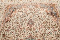 Antique 100% Vegetable Dye Isfahan Persian Area Rug 4x6 image 12