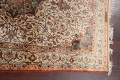 Antique 100% Vegetable Dye Isfahan Persian Area Rug 4x6 image 14