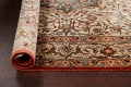Antique 100% Vegetable Dye Isfahan Persian Area Rug 4x6 image 17