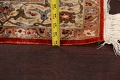 Antique 100% Vegetable Dye Isfahan Persian Area Rug 4x6 image 19