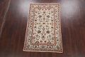 100% Vegetable Dye Floral Kashan Persian Area Rug 4x7 image 2