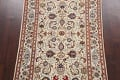 100% Vegetable Dye Floral Kashan Persian Area Rug 4x7 image 3