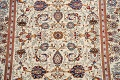 100% Vegetable Dye Floral Kashan Persian Area Rug 4x7 image 4