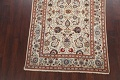 100% Vegetable Dye Floral Kashan Persian Area Rug 4x7 image 8