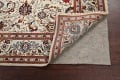 100% Vegetable Dye Floral Kashan Persian Area Rug 4x7 image 6