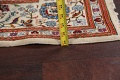 100% Vegetable Dye Floral Kashan Persian Area Rug 4x7 image 17