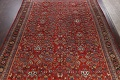 Antique 100% Vegetable Dye Sultanabad Persian Area Rug 12x17 image 3