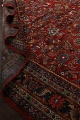Antique 100% Vegetable Dye Sultanabad Persian Area Rug 12x17 image 20