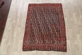 Pre-1900 Antique All-Over Malayer Persian Area Rug 6x7 image 2