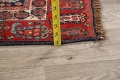 Pre-1900 Antique All-Over Malayer Persian Area Rug 6x7 image 20