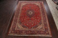 Traditional Floral Kashan Persian Area Rug 10x13 image 2