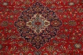 Traditional Floral Kashan Persian Area Rug 10x13 image 4