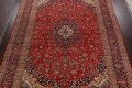 Traditional Floral Kashan Persian Area Rug 10x13 image 3