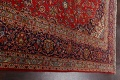 Traditional Floral Kashan Persian Area Rug 10x13 image 14