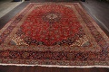 Traditional Floral Kashan Persian Area Rug 10x13 image 16