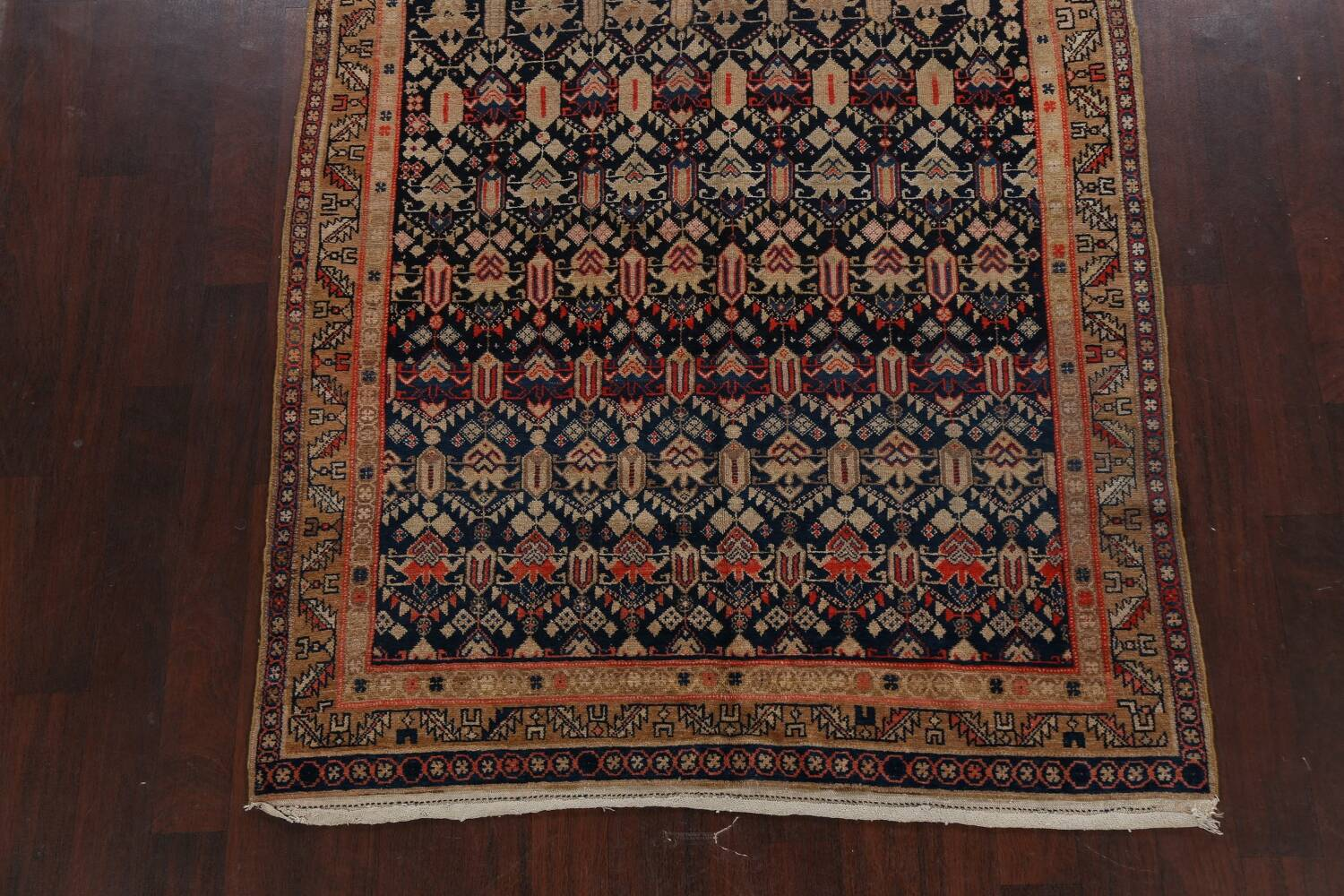 Pre-1900 Antique Vegetable Dye Malayer Persian Area Rug 5x11 image 8