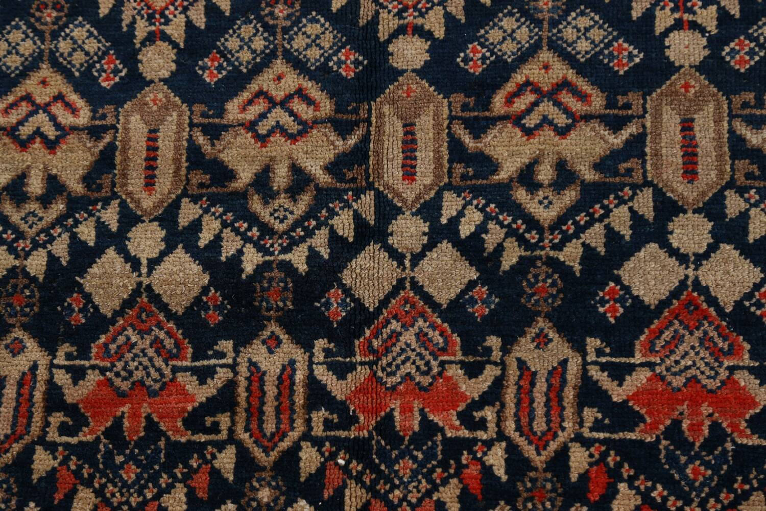 Pre-1900 Antique Vegetable Dye Malayer Persian Area Rug 5x11 image 9