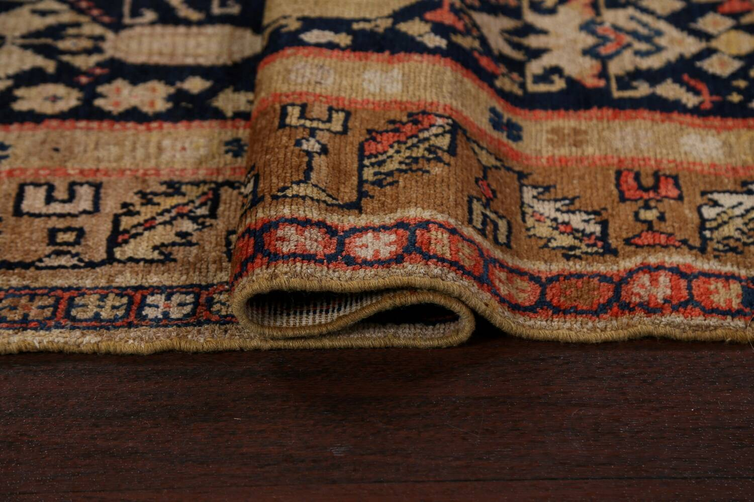 Pre-1900 Antique Vegetable Dye Malayer Persian Area Rug 5x11 image 12